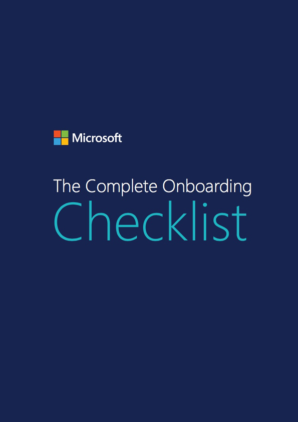 download form the complete onboarding checklist 1